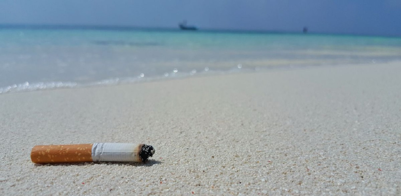 Resultado de imagem para Cigarro ultrapassa o plástico como maior responsável por poluição dos oceanos